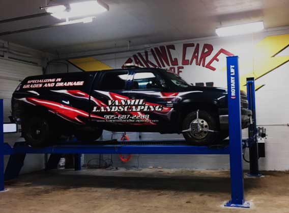 suspension car repair welland